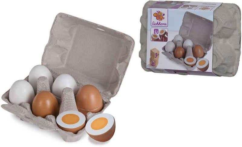 Eichhorn Spiellebensmittel »Eier«, aus Holz