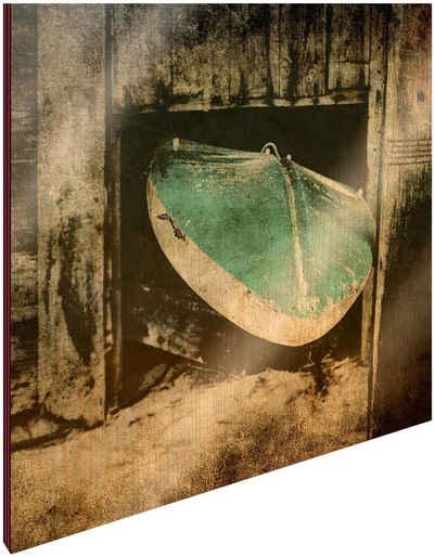 Art & Pleasure Holzbild »Surf break«, Sport