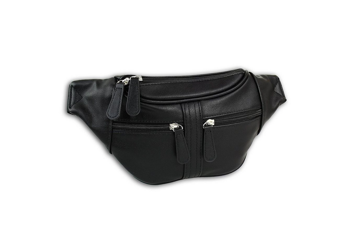 new bags -  Gürteltasche »OTD5023X  Damen Hüfttasche Gürteltasche« (Gürteltasche), Damen, Jugend Tasche schwarz, ca. 35cm x ca. 5cm