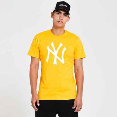 New Era Print-Shirt »New Era MLB NEW YORK YANKEES Seasonal Team Yellow Logo Tee T-Shirt«