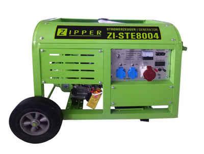 ZIPPER Stromerzeuger »ZI-STE8004«, 8 in kW