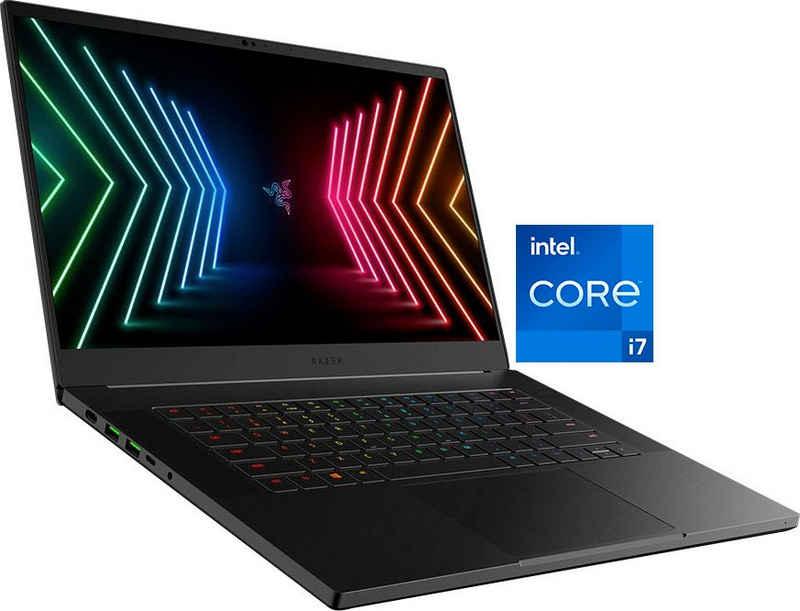 RAZER Blade Advanced 15 RZ09-0409CGC3-R3G1 Notebook (39,6 cm/15,6 Zoll, Intel Core i7 11800H, GeForce RTX™ 3080, 1000 GB SSD, Kostenloses Upgrade auf Windows 11, sobald verfügbar)
