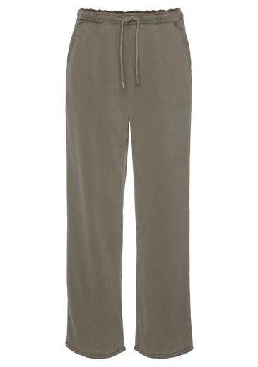 Mavi Culotte »DRAWING PANTS« aus angenehm weicher Lyocell-Qualität