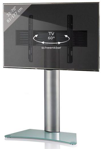 VCM »TV Standfuß Alu Glas Zental« TV-Ständer