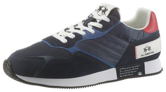 La Martina Sneaker mit komfortabler Lederinnensohle
