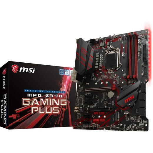 MSI »MPG Z390 GAMING PLUS« Mainboard Mystic Light