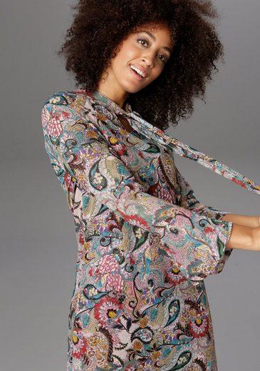 Aniston CASUAL Blusenkleid mit Schluppe