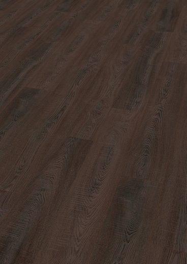 EGGER Laminat »HOME Toscolano Eiche sepia«, Packung, pflegeleicht, 1291 x 193 mm, Stärke: 8 mm