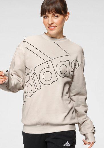 adidas Performance Sweatshirt »WOMEN ESSENTIALS GIANT LOGO SWEATSHIRT«