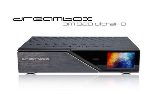 Dreambox »Dreambox DM920 UHD 4K E2 Linux PVR Receiver mit« Satellitenreceiver