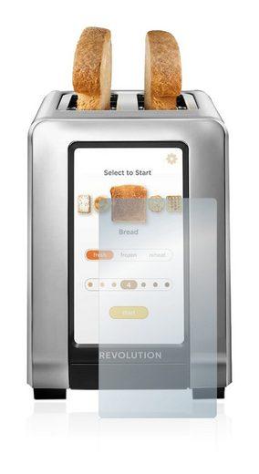 BROTECT Schutzfolie »Panzerglasfolie für Revolution Cooking Smart Toaster«, Schutzglas Glasfolie klar
