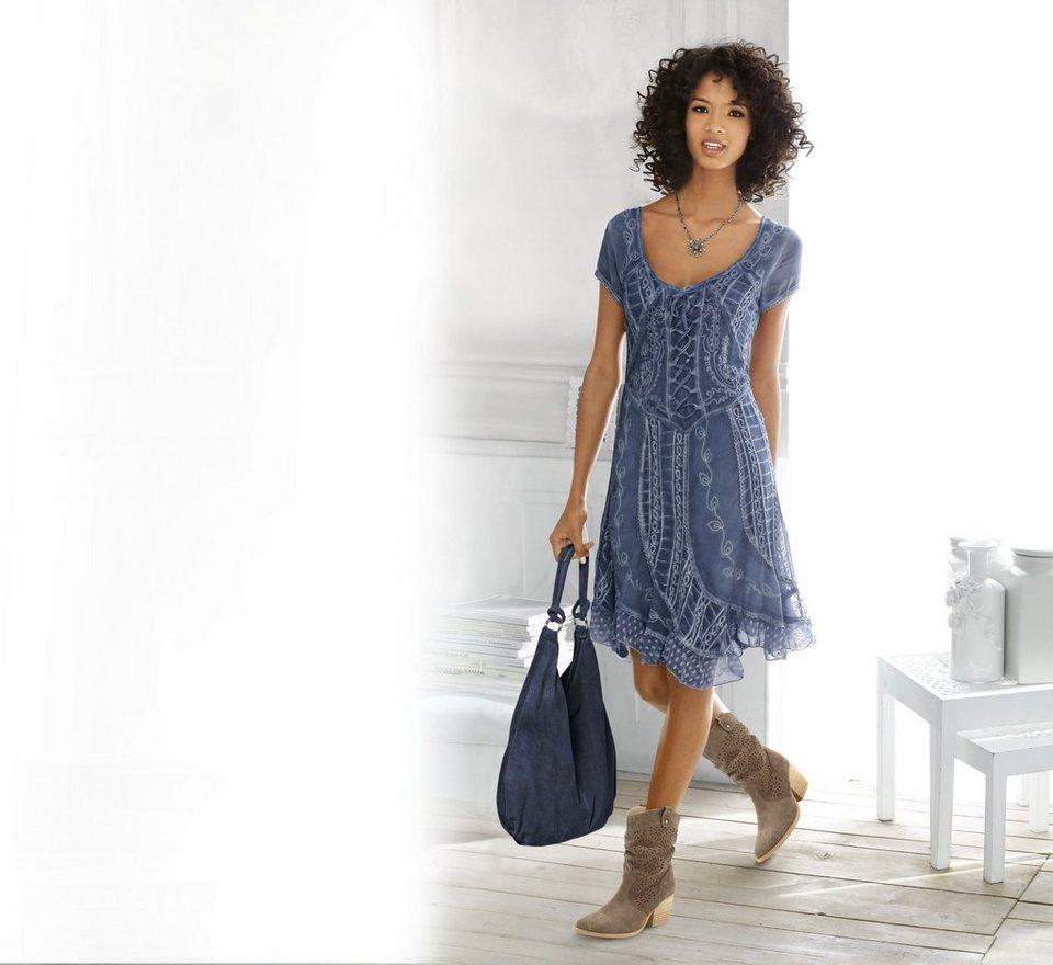 ashley brookeheine sommerkleid, im romantisch verspielten look online  kaufen   otto