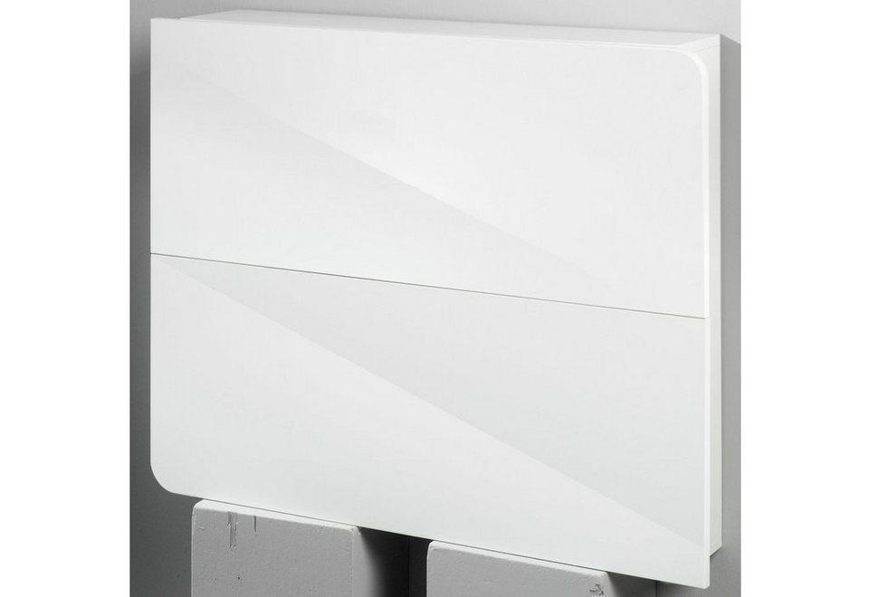 Schuhschrank »Goccia« in weiß-weiß