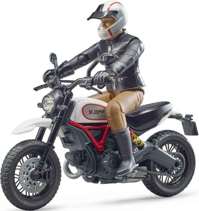 Bruder® Spielzeug-Motorrad »Ducati Desert Sled mit Fahrer«, ; Made in Germany