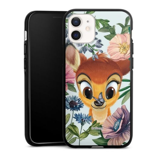 DeinDesign Handyhülle »Bloomy Bambi« Apple iPhone 12 mini, Hülle Disney Offizielles Lizenzprodukt Bambi