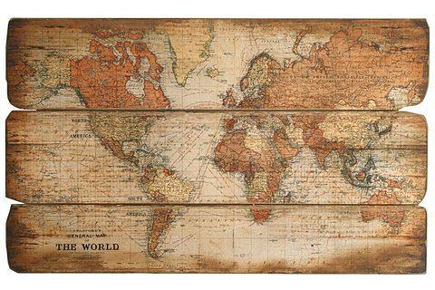 heine home Bild Weltkarte