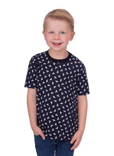 Trigema T-Shirt aus Baumwolle mit modischem Druck