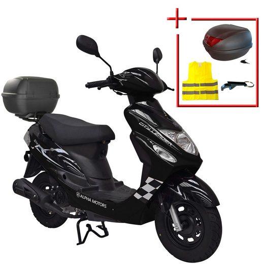 ALPHA MOTORS Motorroller »Cityleader«, 50 ccm, 45 km/h