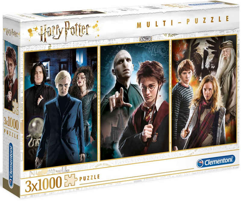 Clementoni® Puzzle »Harry Potter«, 3000 Puzzleteile, Made in Europe, FSC® - schützt Wald - weltweit
