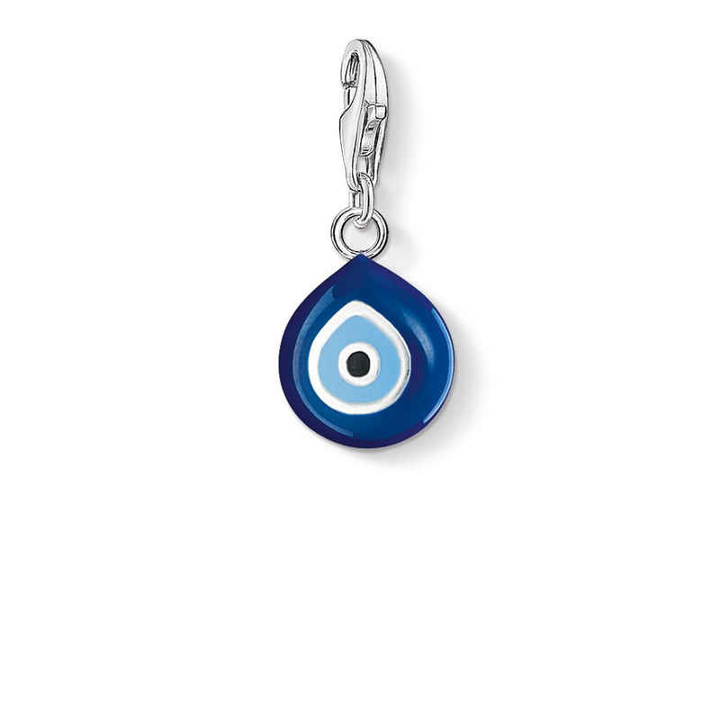THOMAS SABO Charm-Einhänger »0829-007-1 Charm-Anhänger Nazar Auge Silber«