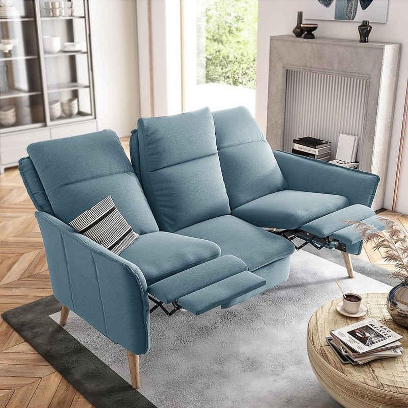 PLACE TO BE. 3-Sitzer, 3-Sitzer Sofa Couch Wohnlandschaft mit Relaxfunktionen und hoher Rückenlehne