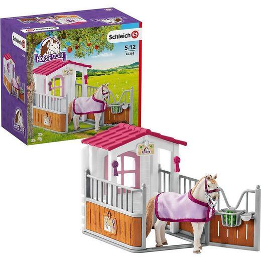 Schleich® Spielfigur »Schleich 42368 Horse Club: Pferdebox mit Lusitano«