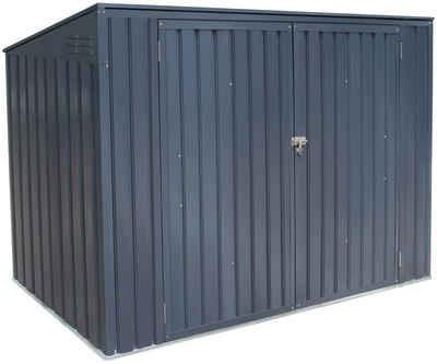 Hide Mülltonnenbox, für 3 x 240 l
