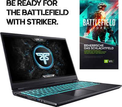 Hyrican Striker 1639 Gaming-Notebook (43,94 cm/17,3 Zoll, Intel Core i7, GeForce RTX 3070 Max.Q, 1000 GB SSD, 300 Hz Display)