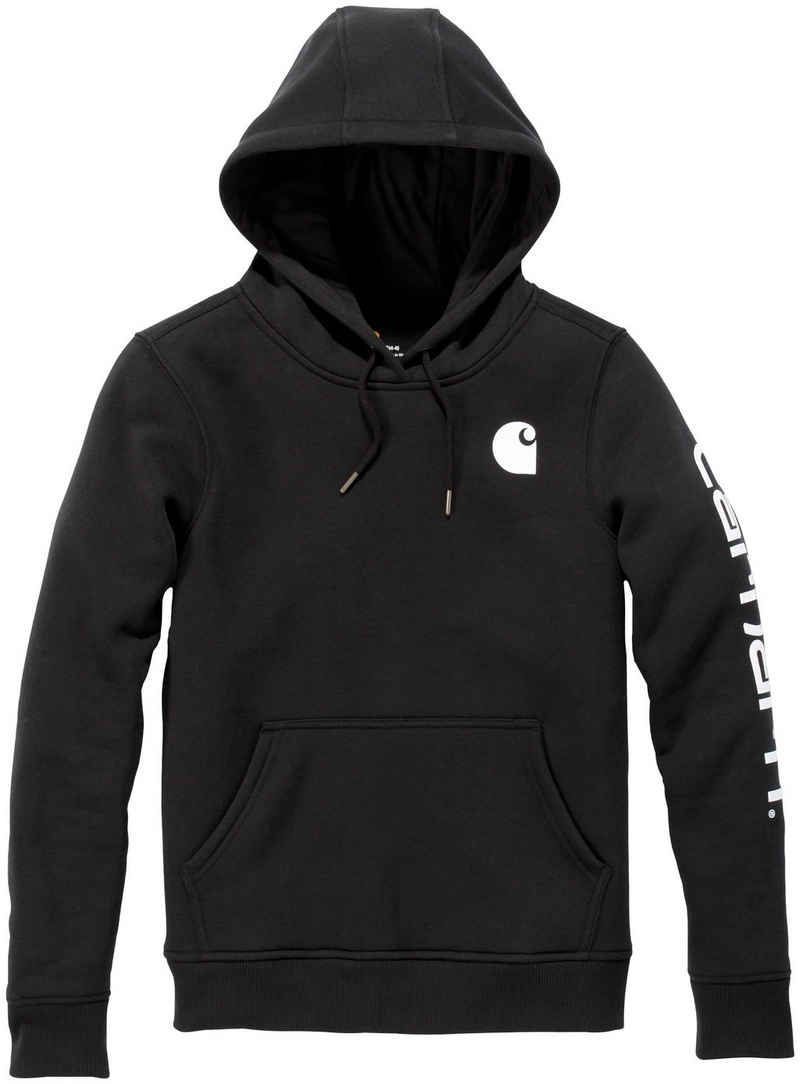 Carhartt Kapuzensweatshirt »CLARKSBURG« BLACK, Damen Pullover