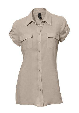 CASUAL блузка с Halbarm и Riegel