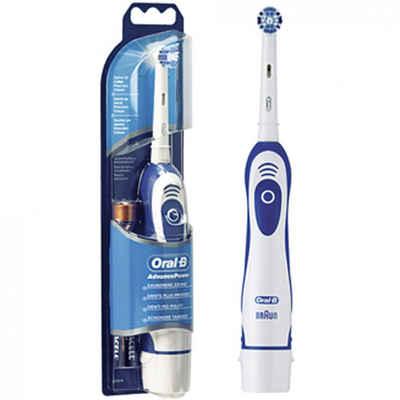 Braun Elektrische Zahnbürste Oral-B Advanced Power batteriebetrieben, Aufsteckbürsten: 1 St.