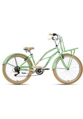 KS Cycling Cruiser »Kahuna« 6 Gang Shimano Tourne...
