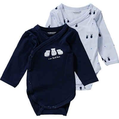 vertbaudet Wickelbody »Baby Wickelbody Doppelpack«