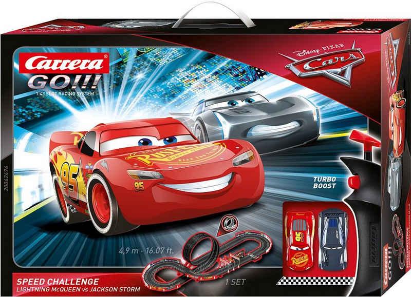 Carrera® Autorennbahn »Carrera GO!!! - Disney·Pixar Cars - Speed Challenge« (Streckenlänge 4,9 Meter)