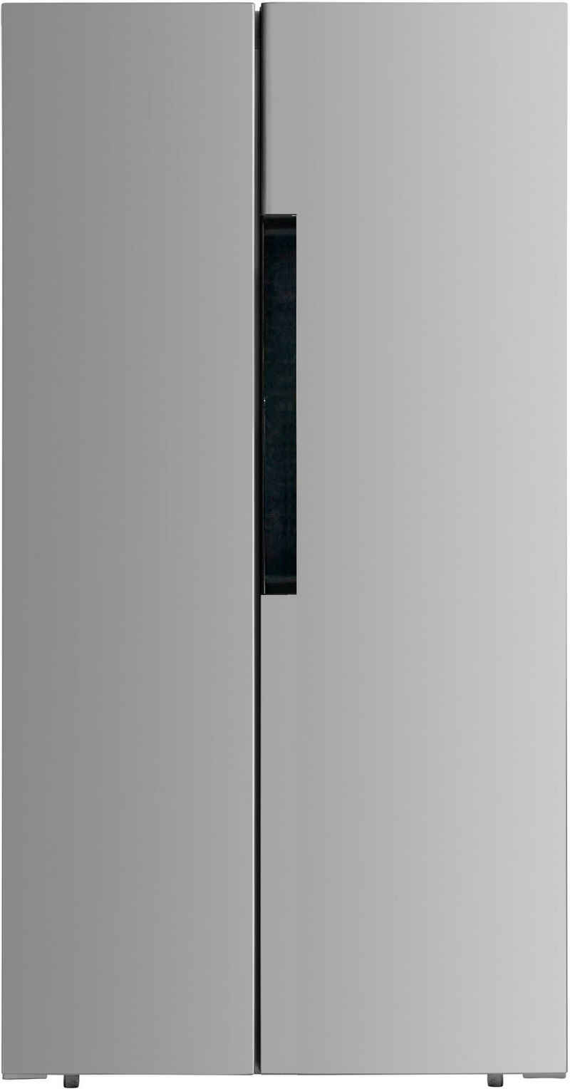 PKM Side-by-Side SBS440.4A+NF SI, 178 cm hoch, 83,6 cm breit