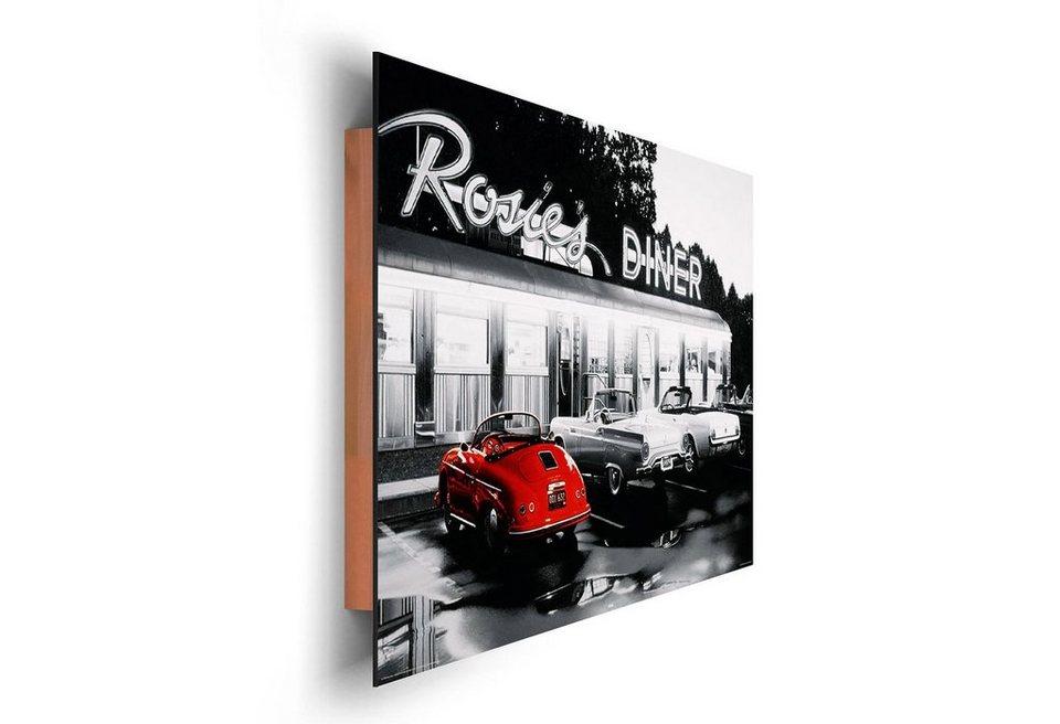 Kunstdruck, Home affaire, »Schönebilder«, 90/60 cm in rot