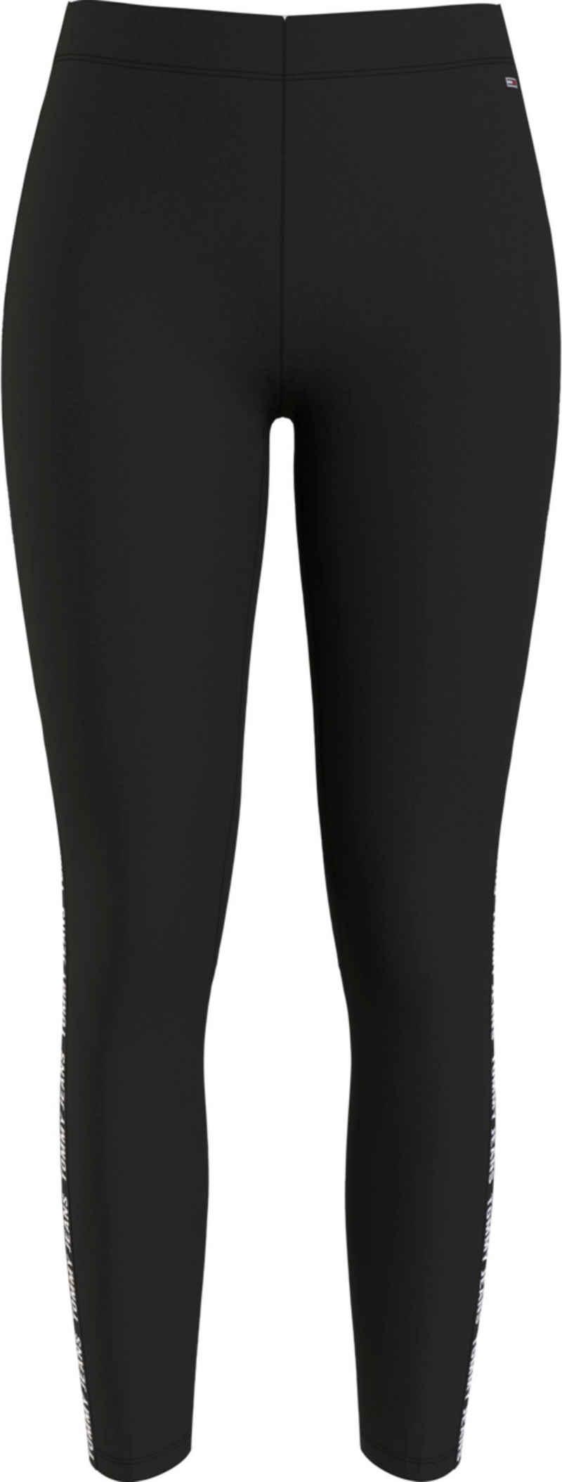 Tommy Jeans Leggings »TJW SKINNY TAPE LEGGINGS« mit Tommy Jeans Logo-Schriftzug seitlich am Bein