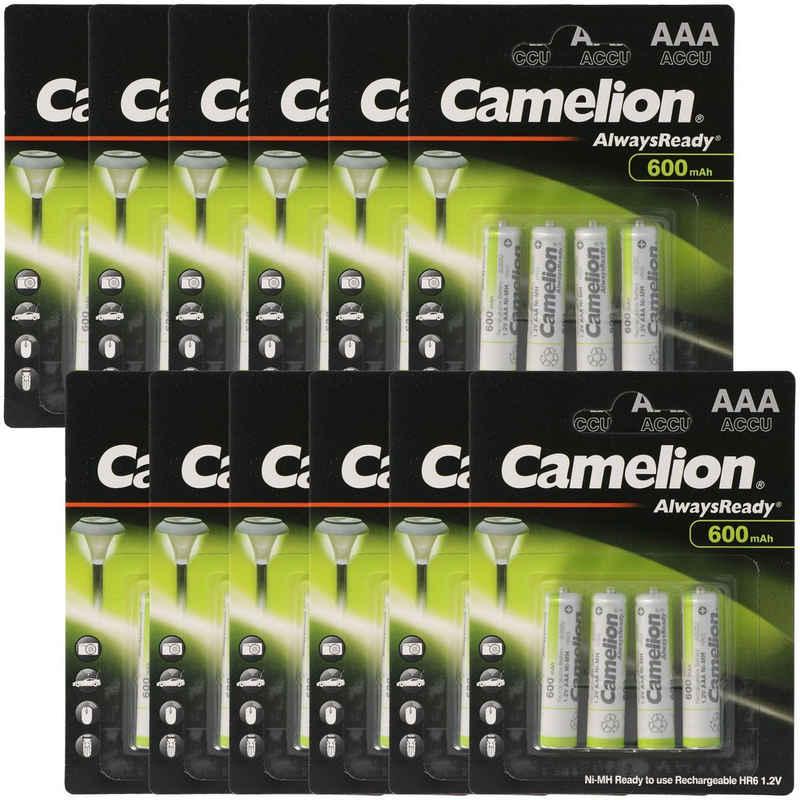 Camelion »12 Stück Vorteilspack AAA, Micro LR3, HR03, NiMH A« Akku