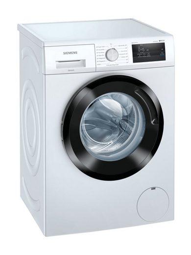 SIEMENS Einbauwaschmaschine WM14N0G2, 55 kg kg, 1400 U/min, LED-Display simpleTouch, iQdrive, iSensoric