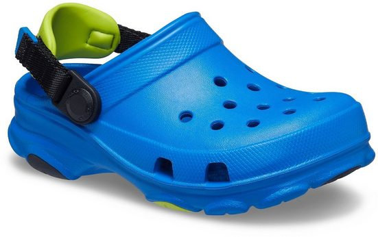 Crocs »Bright Cobalt Classic All-Terrain Clog K« Clog mit kontrastfarbenem Fersenriemen