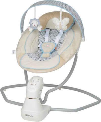 BabyGo Babywippe »Cuddly, beige«, elektrisch, mit Sound