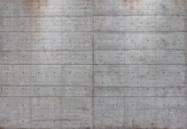 Komar Fototapete, Concrete Blocks, 368/254 cm