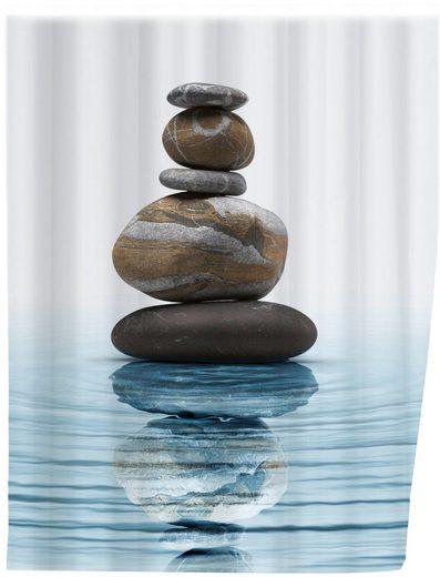 WENKO Duschvorhang »Meditation« Breite 180 cm, Höhe 200 cm