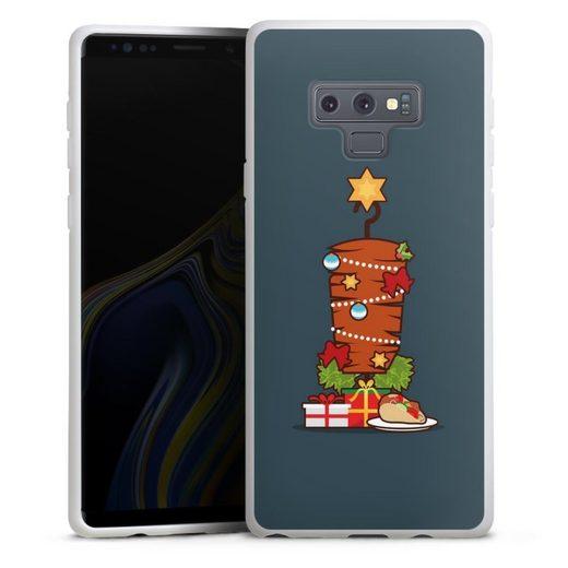 DeinDesign Handyhülle »Weihnachts-Döner« Samsung Galaxy Note 9, Hülle Essen Fast Food Türkei