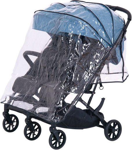 Knorrbaby Kinderwagen-Regenschutzhülle »für Zwillingsbuggy Twin-Easy Fold«