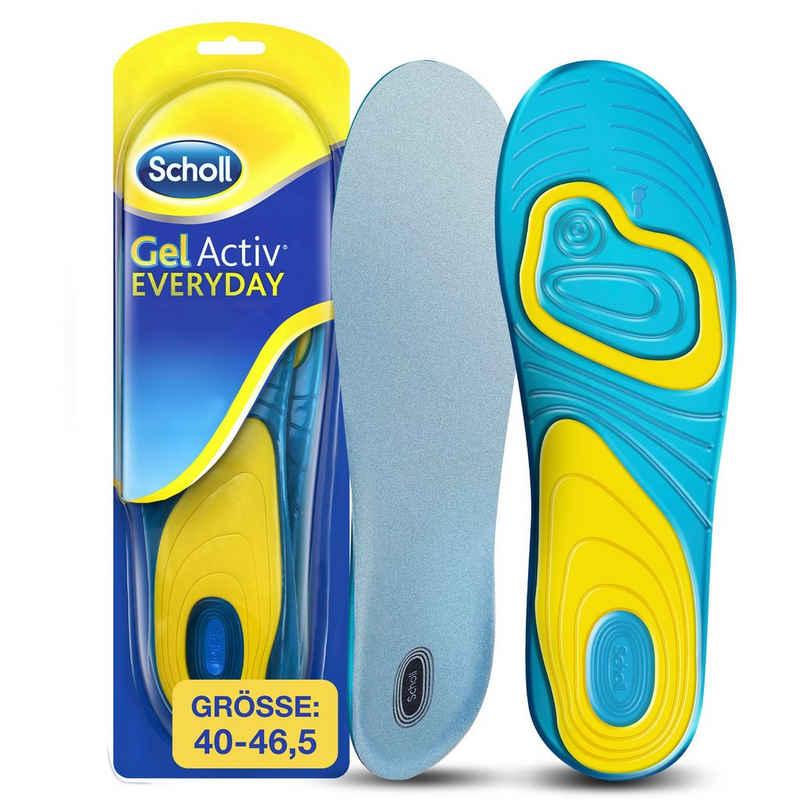 Scholl Gelsohlen »GelActiv Everyday Einlegesohlen«, für Männer, passend für Schuhgrößen 40 bis 46,5