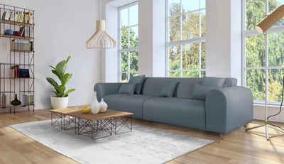 andas Big-Sofa »Svennis«, in 2 Bezugsqualitäten, B/T/H: 314/98/83 cm