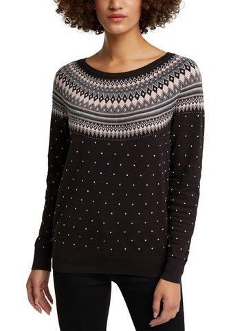 Esprit Megztinis im authentischen Norweger-Lo...