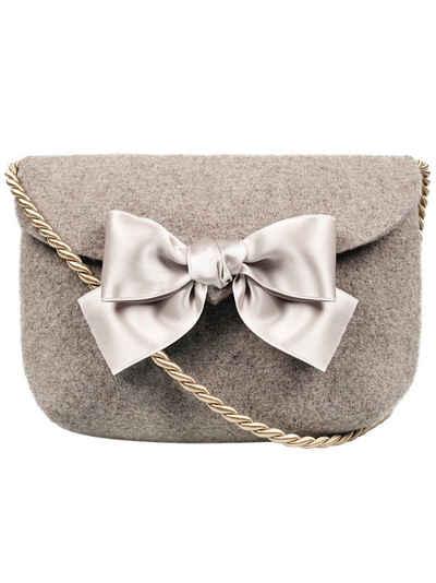 Almbock Trachtentasche »Dirndltasche Lilly«, handgemachte Wollfilztasche, taupe