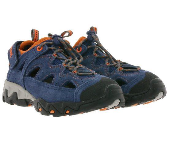 Meindl »MEINDL Rudy Trekking-Sandale farbenfrohe Wander-Schuhe Kinder Outdoor-Sandalette mit Schnellschnürsystem Blau« Outdoorsandale